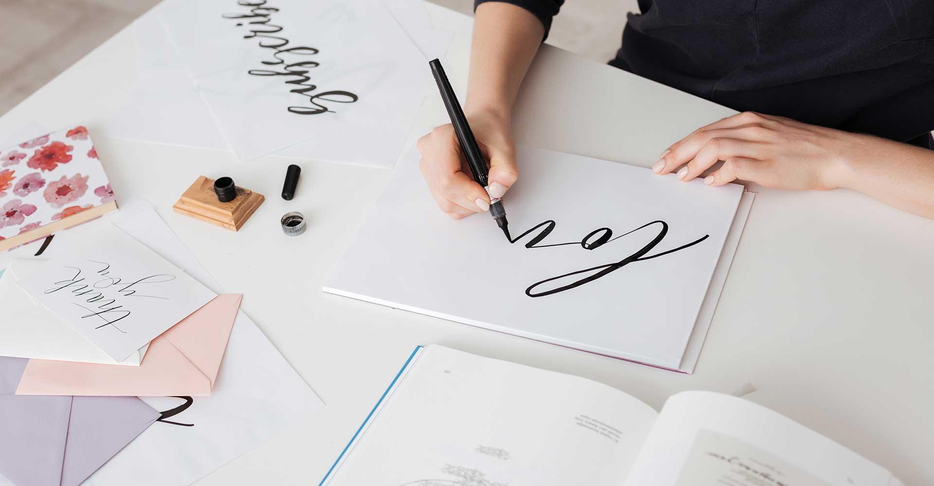 Virtual Calligraphy Workshop